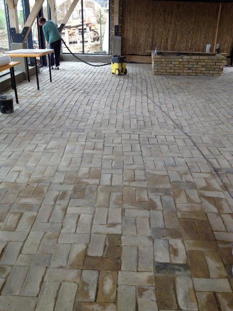 Pflaster 25 x 12 x 6 5 cm reichsformatziegel for Boden ziegelsteine